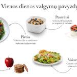 Cezario salotos su vištiena ir sūriu